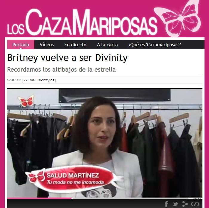 Aparición en Divinity - Britney Spears