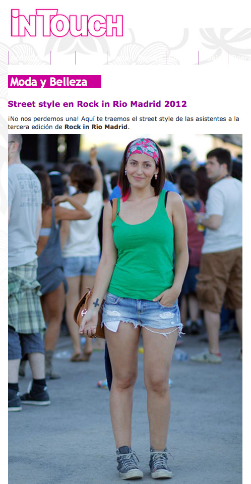 Rock in Rio InTouch
