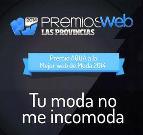 Premio AQUA a la Mejor Web de Moda 2014