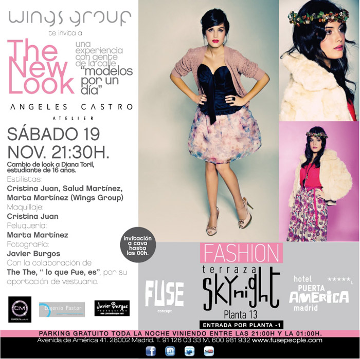 Flyer desfile New Look