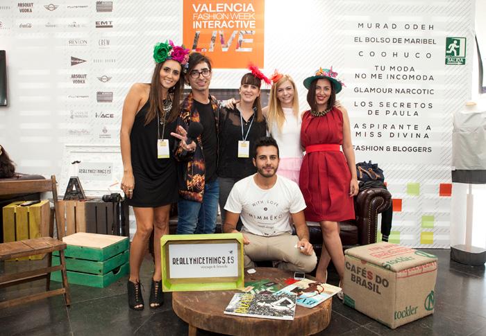Bloggers Valencia Fasion Week