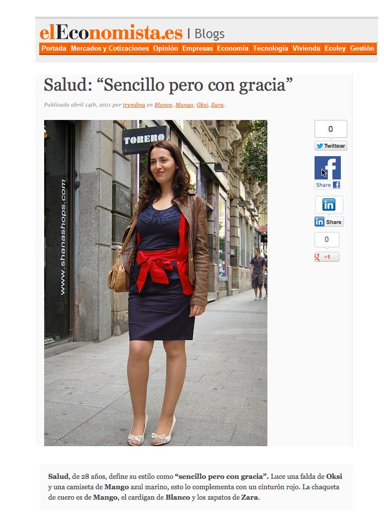 Streetstyle en El Economista